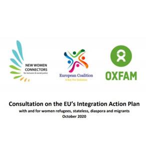 Participation in Public Consultation on the EU's Integration Action Plan