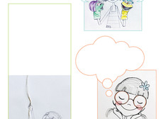 FREE PRINTABLE ACTIVITY SHEETS FOR KIDS - comics balloon series