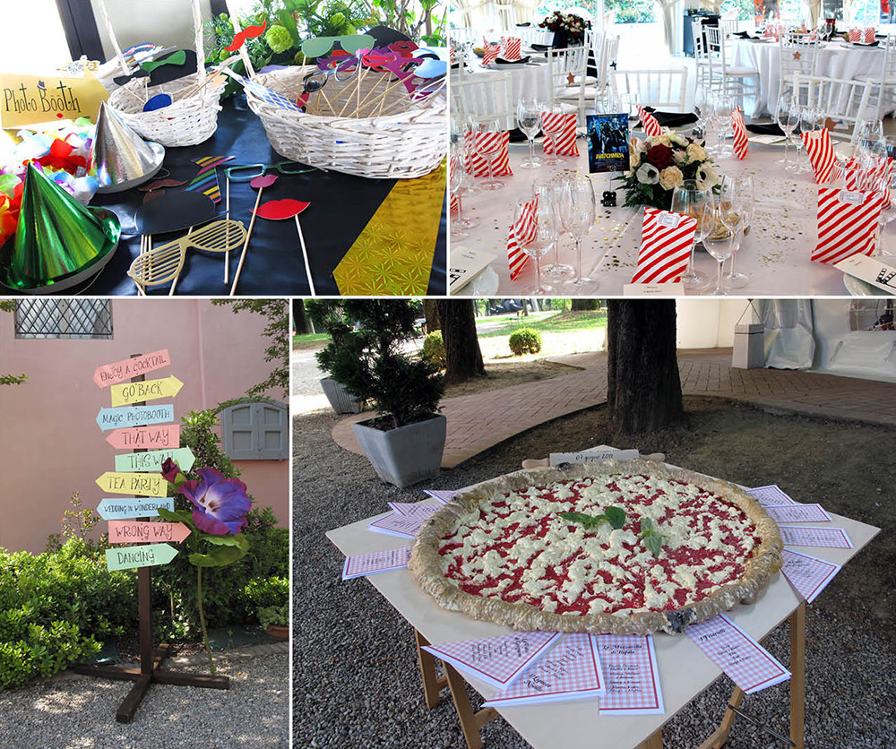 PARTY DESIGN AND PROPS
