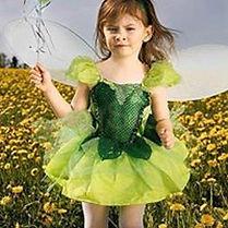 Malá víla -dětské focení -karneval