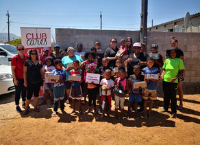 SCHOOL SHOES BRING SMILES TO THE CHILDREN OF GRABOUW