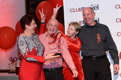 Awards evening 2017 - Charmaine, Wally, Jo & Gary