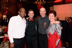 Awards evening 2017 - Jerry, Collin, Gary & Charmaine