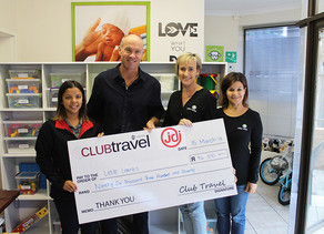 CLUB TRAVEL & JDI RAISE FUNDS FOR LITTLE LAMBS