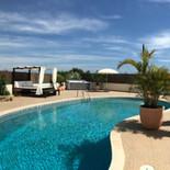 Panorama Zwembad Terras
