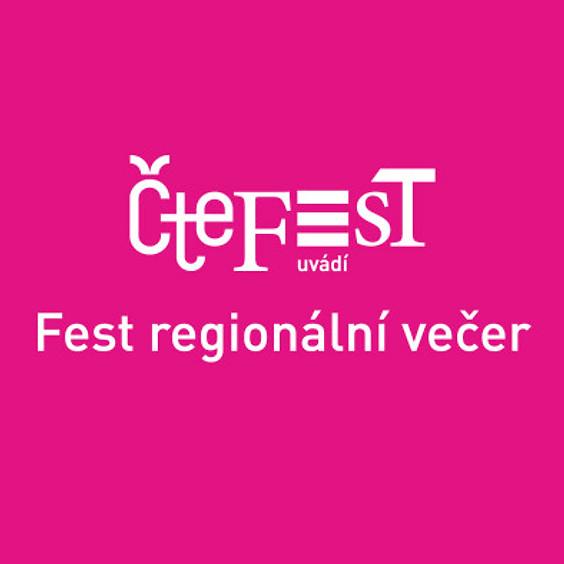Fest regionální večer - Putzlacher, Baronová, Lipus, Trojak, Kučera