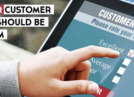 Superior Customer Service Shouldn't Be an Exception, It Should Be the Norm