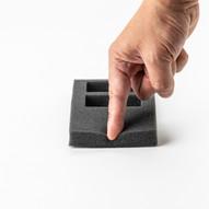 Polyester Foam Cut-out Insert (Black)