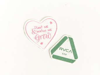 Plantable Seed Paper Tag