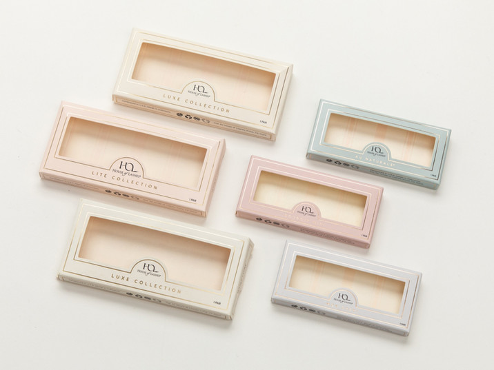 Folding Carton for Eyelashes