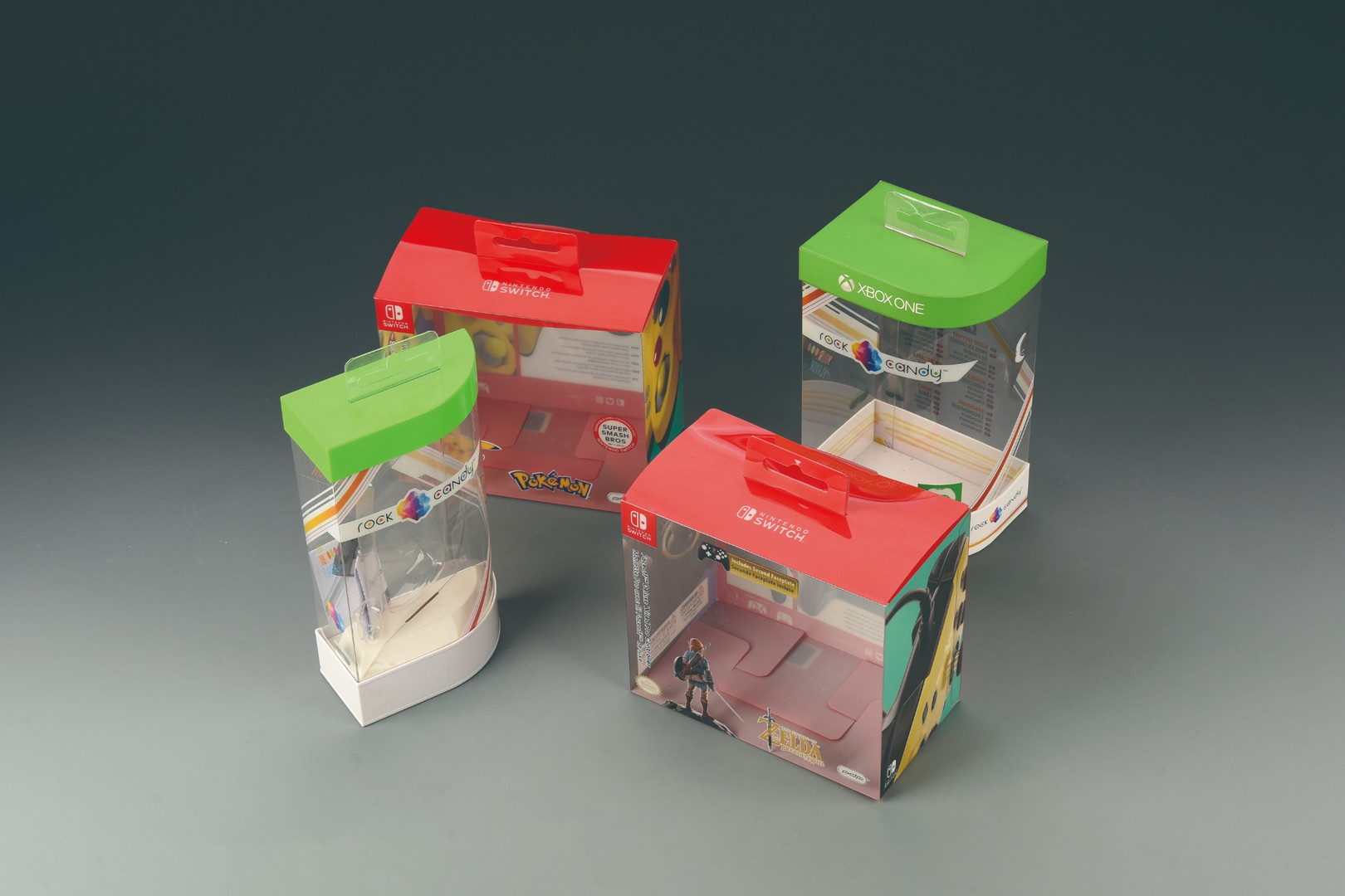 Clear PET Box with Hangtab