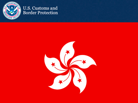 Customs Updates:  New Marking Rules for Goods Made in Hong Kong – Executive Order 13936
