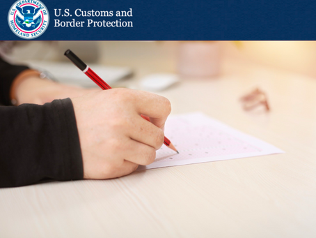 Customs & Border Protection: Custom Brokers License Examination Date Change