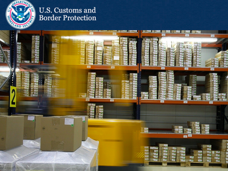 ATTENTION: US Customs Increases Scrutiny Over Imports to Domestic Warehouses and Fulfillment Centers