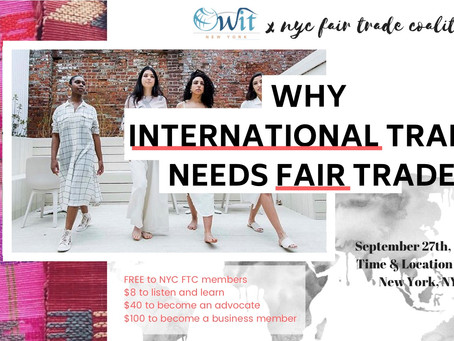 Why Does International Trade Need Fair Trade?