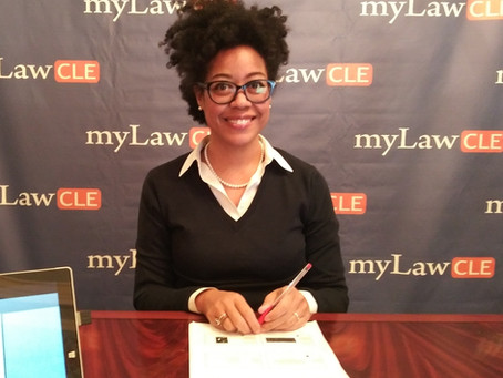 Deanna Trains Lawyers on Vape Law at myLawCLE