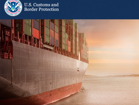 Customs Updates: Interim Guidance for Federal Trade Zone Operator Bond Amounts