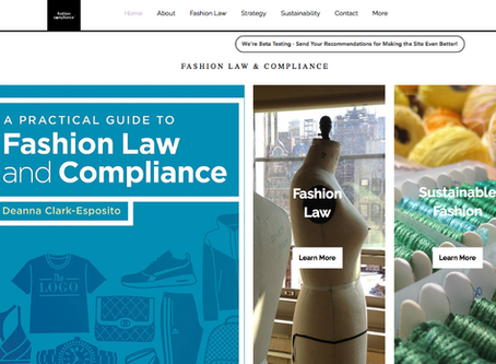 Resources to Expand Learning About Fashion Law