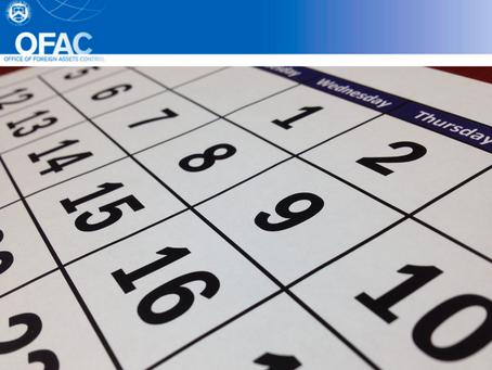 OFAC Updates Week 6/5/21