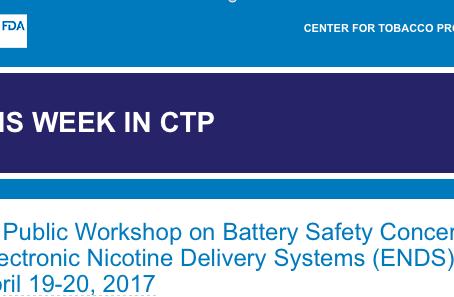 E-Cigarette Batteries Taking Center Stage With FDA