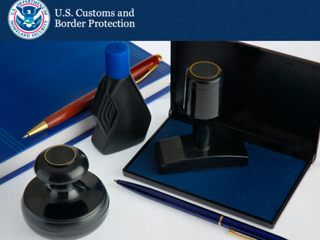 US Customs (CBP) Updates: National and District Broker Permits & RLF/EIP Filing