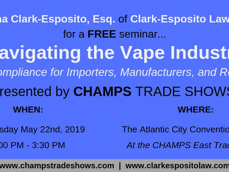 Join Deanna at CHAMPS on 5/22