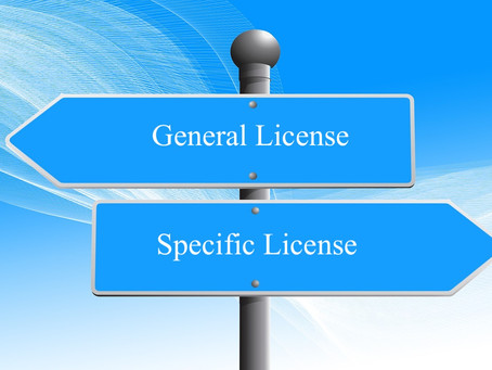 What Type of OFAC License Should I Use?