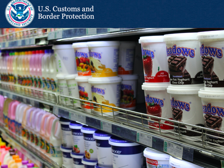 Customs Updates: Food Facility Registration/Renewal and Unique Facility Identifier (UFI)