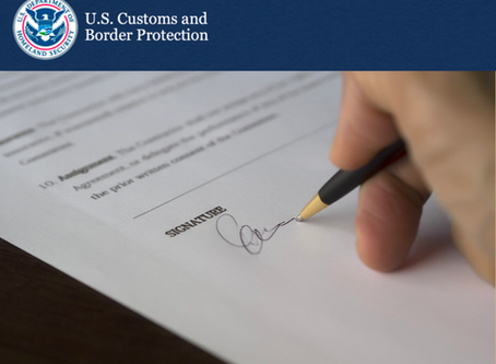 Customs Updates: FDA Document Submission During COVID-19 Pandemic