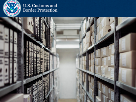 Customs Rules on Imports to Domestic Warehouses and Fulfillment Centers