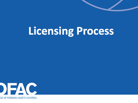How Can I Apply for an OFAC License?