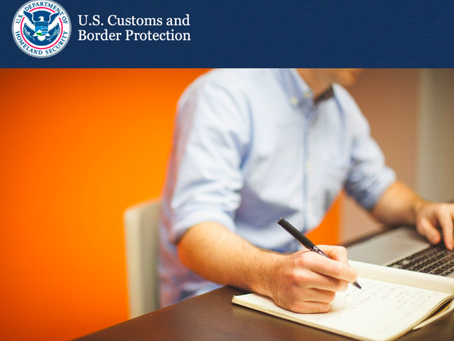 Customs & Border Protection: FDA Recommended Use of ITACS