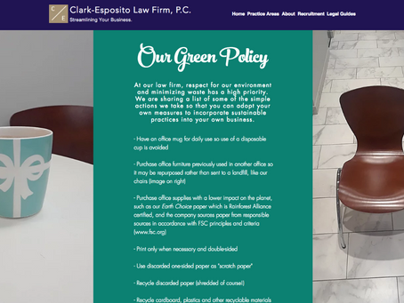 Want to Set a 'Green' Policy for Your Business?