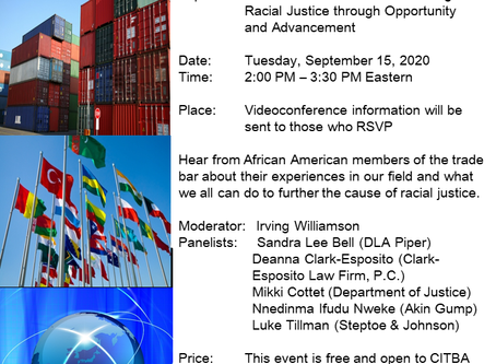 Black Voices in Trade Event on 9/15