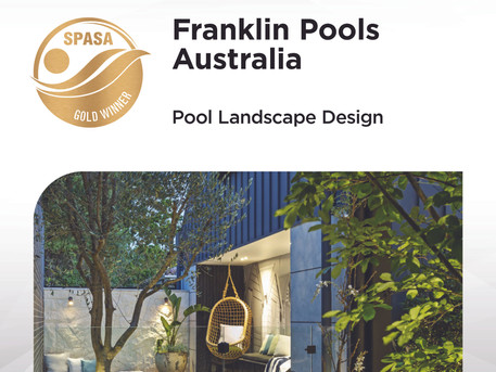Double Gold For Franklin Pools Australia