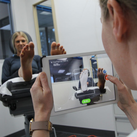 Custom Podiatry unveils new 3D foot scanner