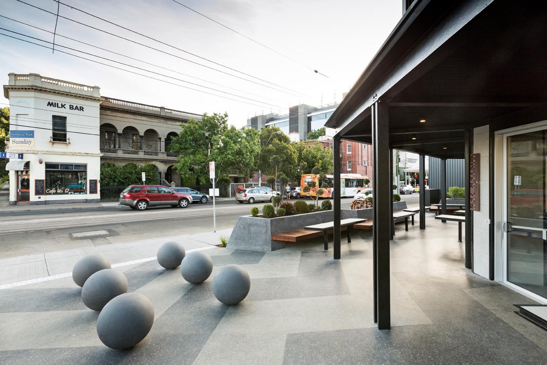 The Block 'Blocktagon' – Commercial Road, South Yarra.