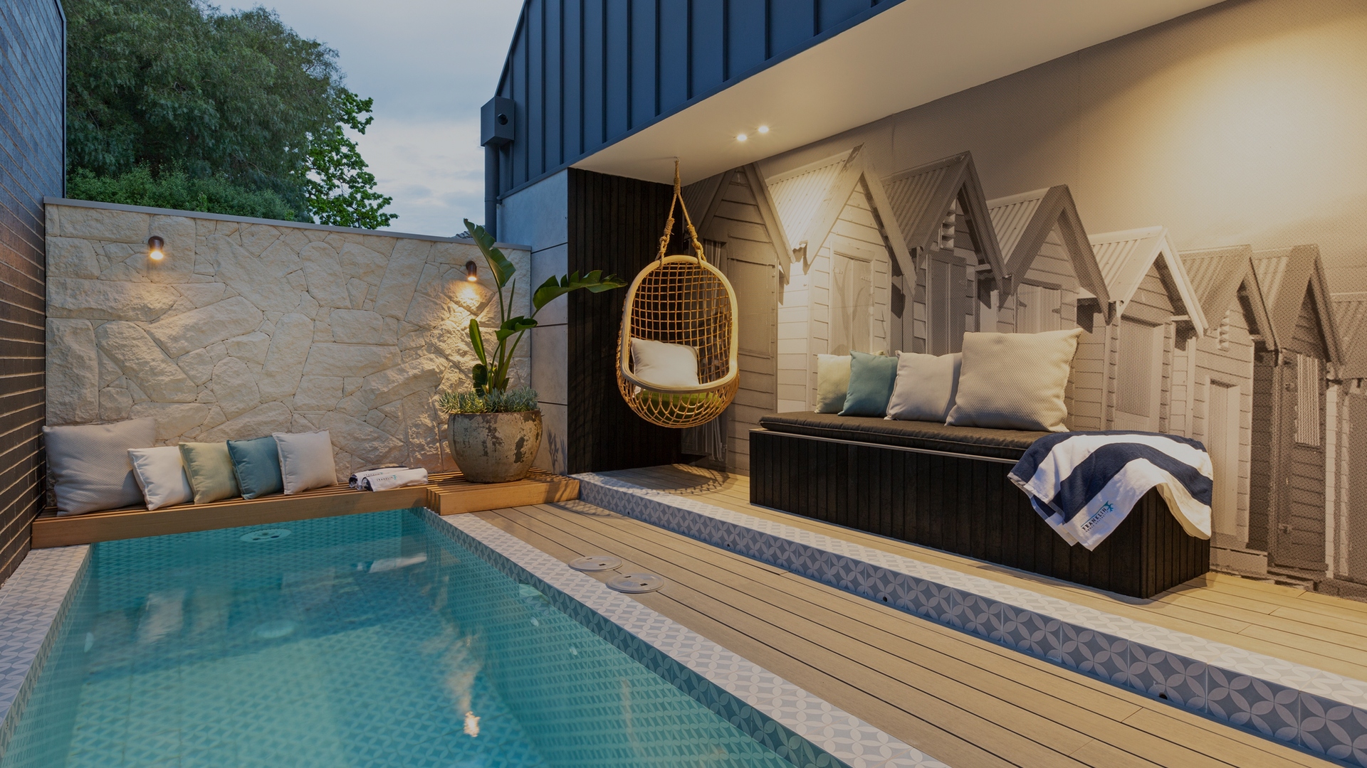 The Block 2020 | House 2 Pool