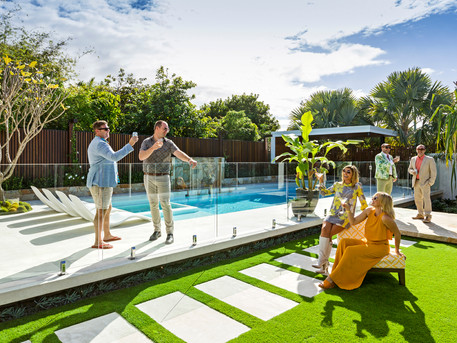 Revealed: The Block's Co-host Shelley Craft's Palm Springs Inspired Landscape