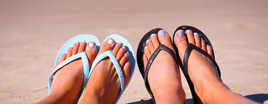 3 Podiatry-approved thongs to slip into this Summer