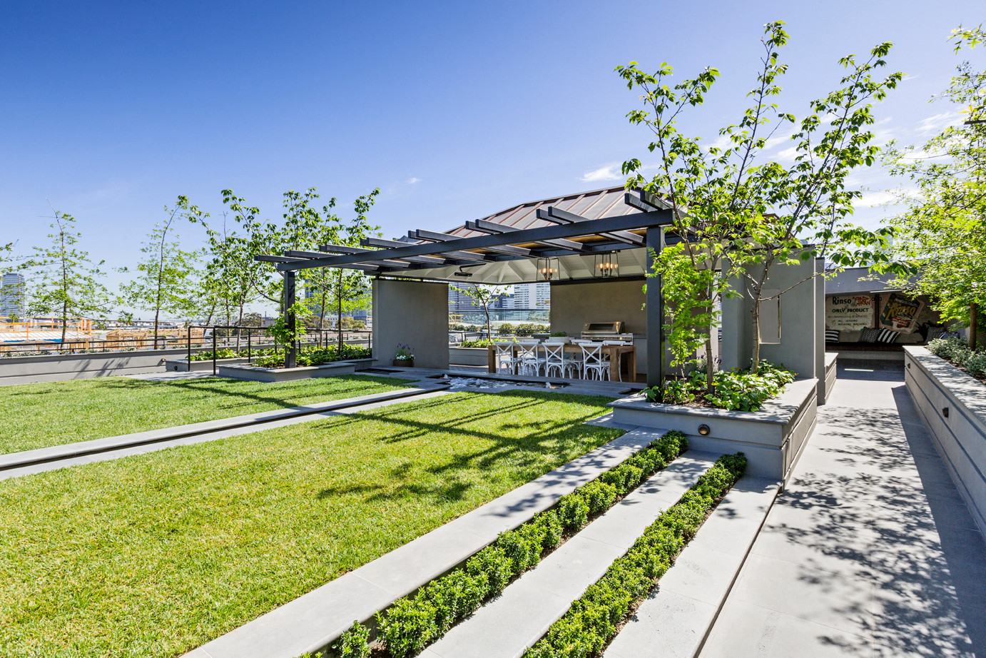 The Block 'Rooftop' - Ingles St, Port Melbourne.