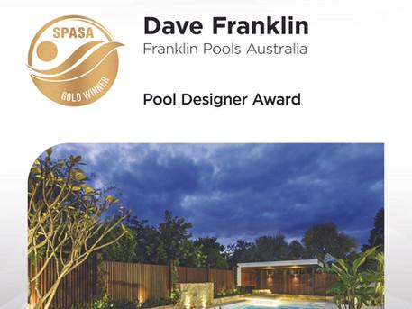 Dave Franklin Wins Australia's Best Pool Designer
