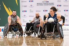 2021 GIO Wheelchair Rugby National Championship day 3