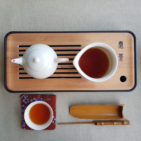 Respira y siente el té.