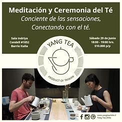 Meditación y Té 29-06