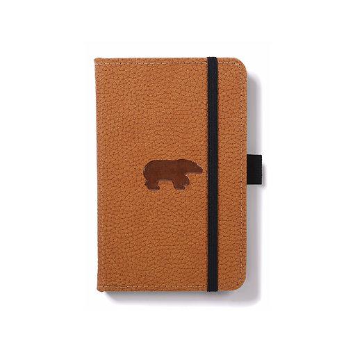 Dingbats A6 Pocket Notizbuch [Braun/Bär]