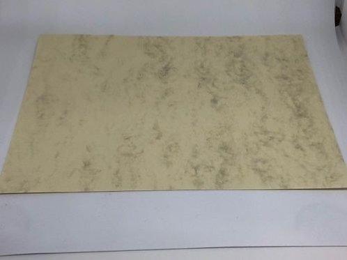 Urkundenpapier Marmorpapier  A4 90 gr. ab 10 Blatt [Grau oder Beige]