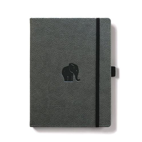 Dingbats A5+ Notizbuch [Grau/Elefant]