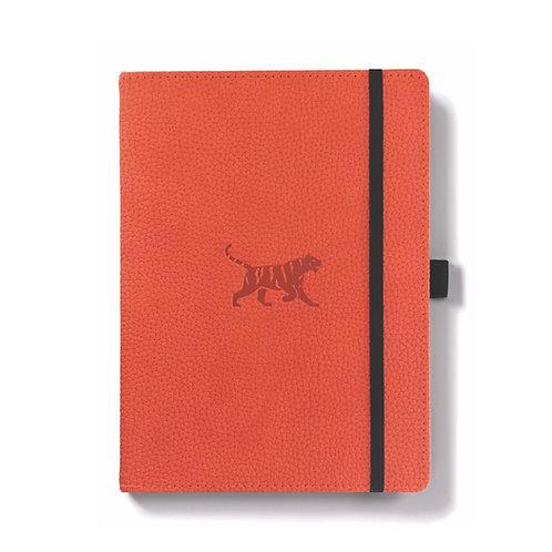 Dingbats A5+ Notizbuch [Orange/Tiger]