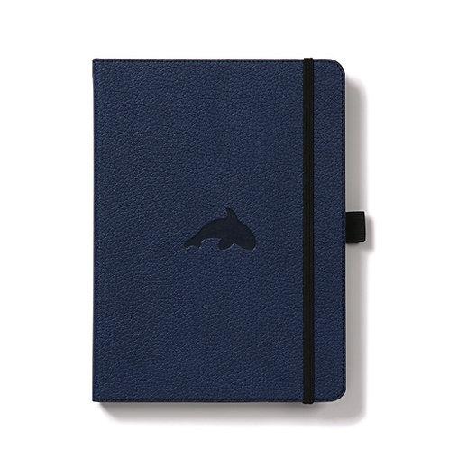 Dingbats A5+ Notizbuch [Blau/Wal]